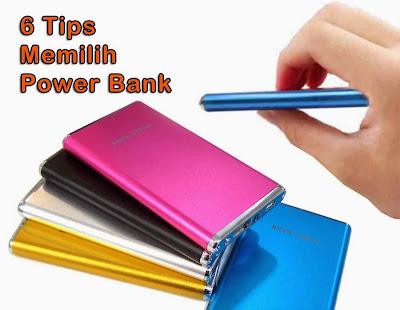 6 Tips Memilih Power Bank
