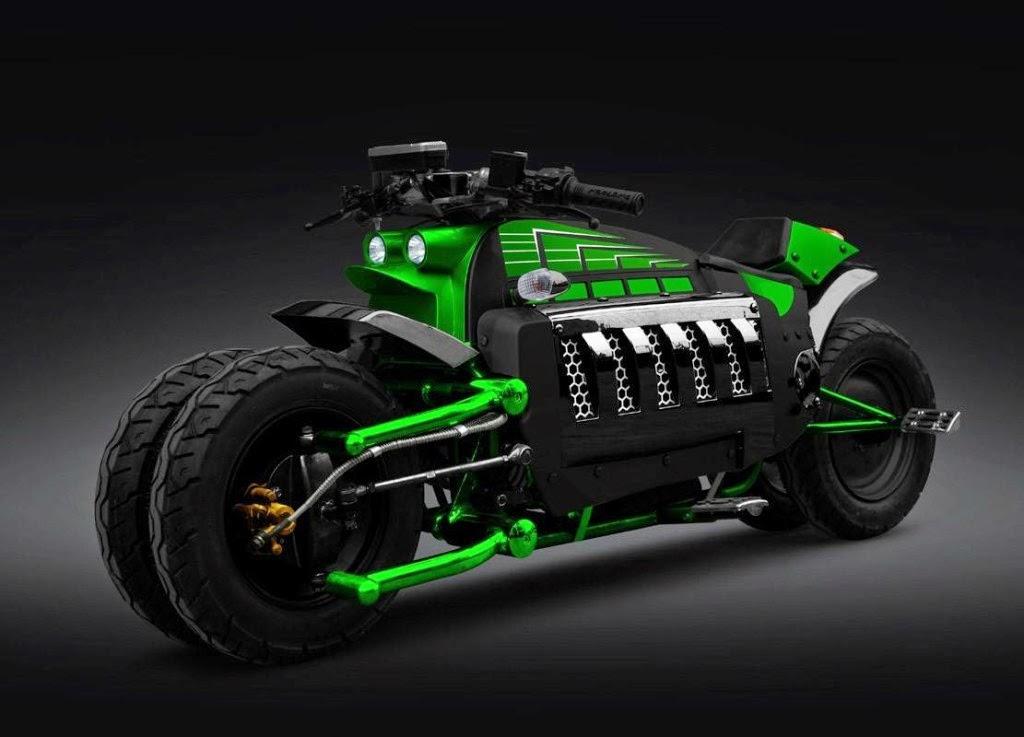 10 Top Desain Motor Masa Depan