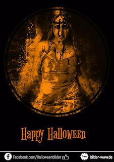 gruselige Halloweengrußbilder