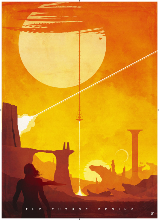 The Geeky Nerfherder Cool Art Star Trek Posters By Patrick Connan