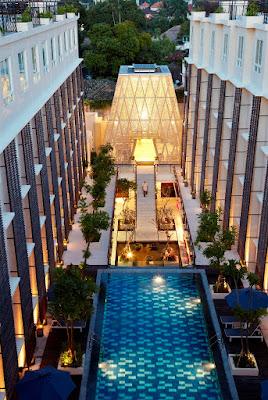 tampak atas hotel Ananta Legian Bali