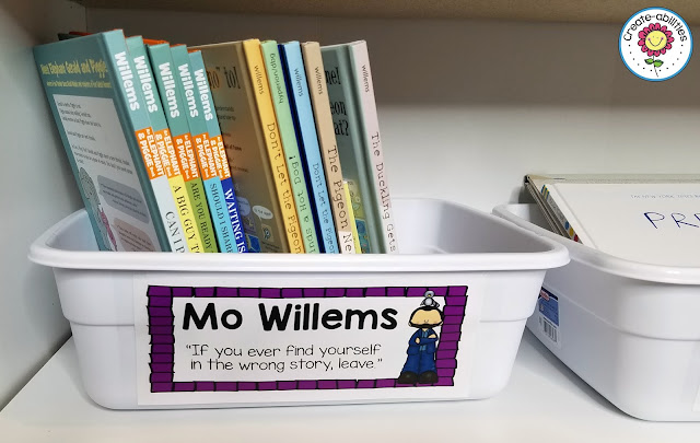 Mo Willems Book Label