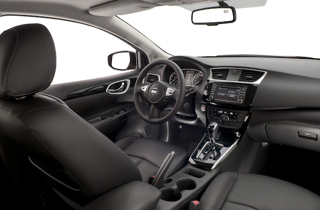 Novo Nissan Sentra 2017 - interior