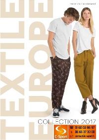 Catalogue Textile Europe 2017 avec Tarifs HT