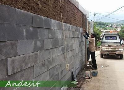 PEMASANGAN BATU ANDESIT DI JAKARTA SERPONG BSD GADING SERPONG ALAM SUTRA