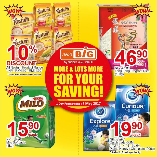 AEON BiG Nestle MILO Nestum Discount Promo