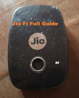 jio fi setup hindi