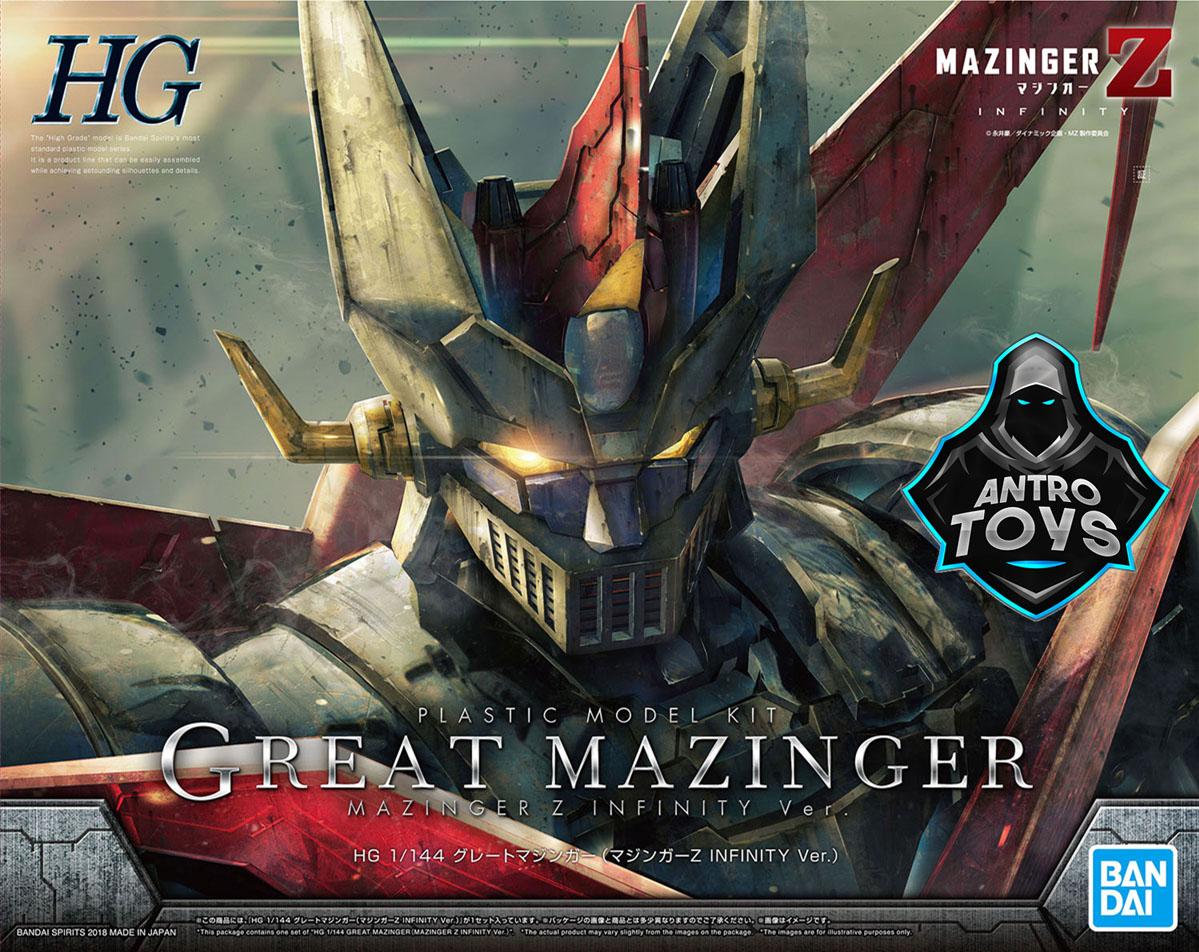 Gunpla HG Great Mazinger Infinity Version Grande Mazinga