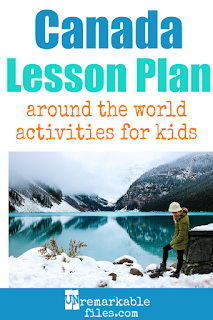 Building the perfect Canada lesson plan for your students? Are you doing an around-the-world unit in your K-12 social studies classroom? Try these free and fun Canada activities, crafts, books, and free printables for teachers and educators! #canada #lessonplan #student #geography