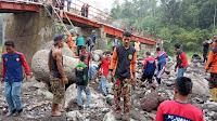 IPM HW SMK Mutu Bumi Ikut Bantu Penanganan Darurat Jembatan Plompong