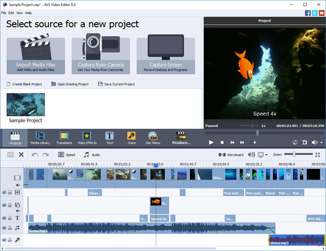 AVS Video Editor v8.1.2.322 Full version