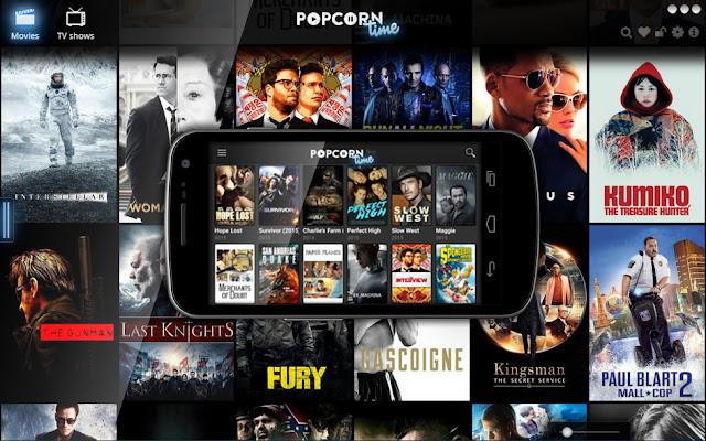 """爆米花時間 P2P領先的按需娛樂中心免費的""""Popcorn time""""現在可以立即安裝在Android/iPhone手機和平板電腦上"""