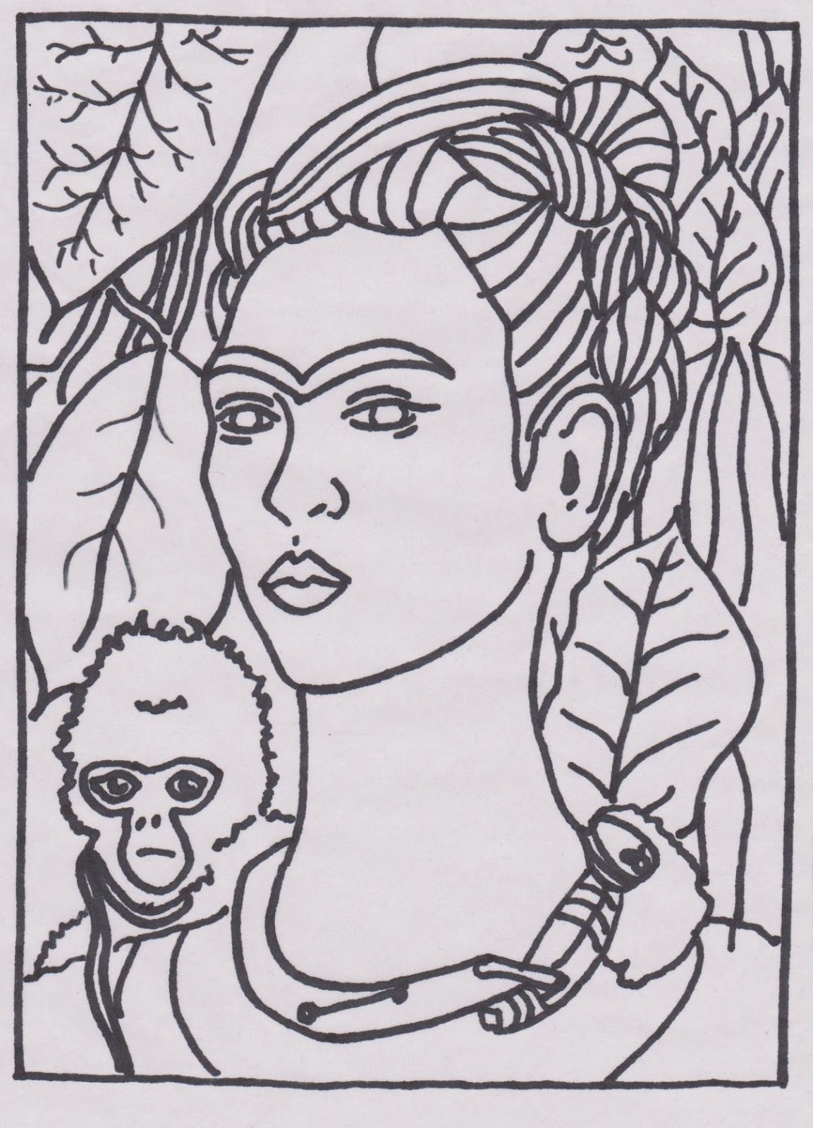 coloring pages artists - photo#10
