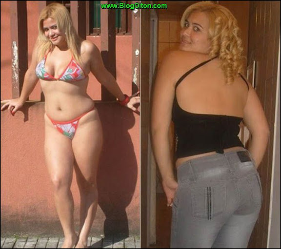 Geisy Arruda antes e depois