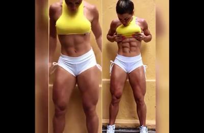 Clip huge female bodybuilders, bodybuilding exercises