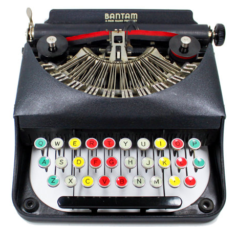 Vintage Bantam Typewriter from Brooklyn Retro