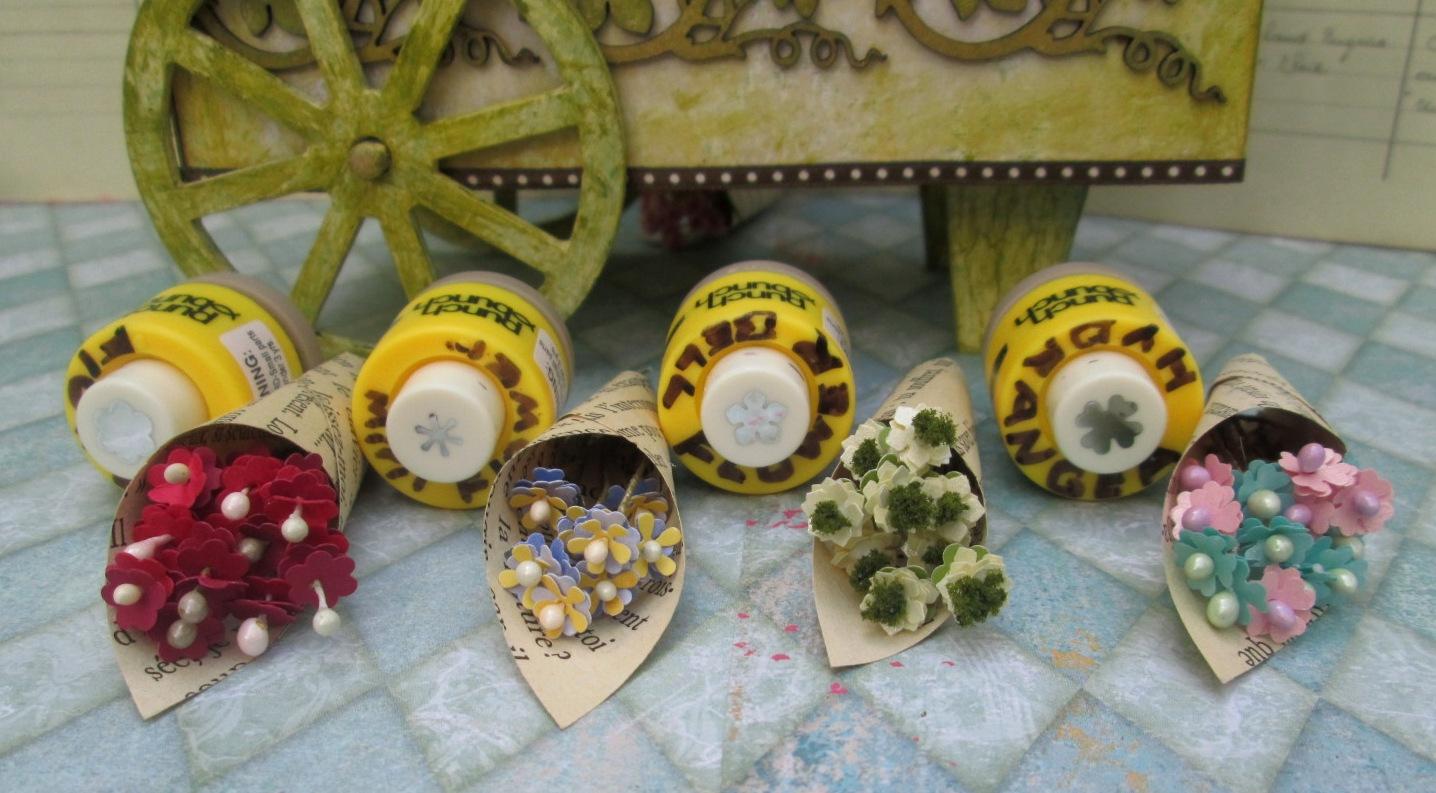 Mini Flower Paper Punches Ukrandiffusion