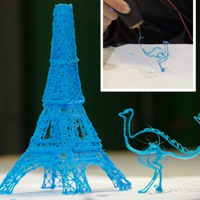 The World's First 3D Printing Pen that Lets you Draw Sculptures