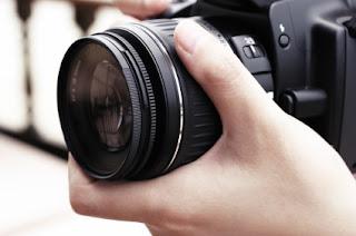Belajar fotografi dengan kamera DSLR