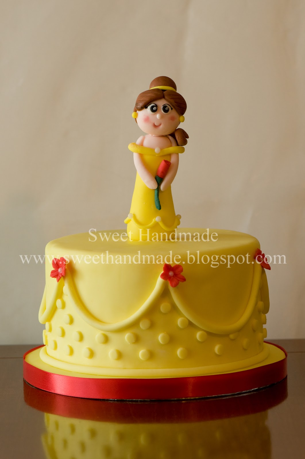 Sweet Handmade Cookies Beauty And The Beast S Belle Cake
