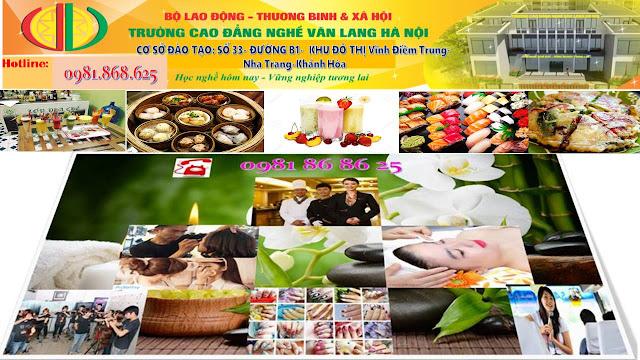 Đào tạo nấu ăn chuyên nghiệp tại Nha Trang