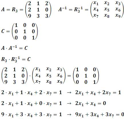 Obtención de la matriz R3