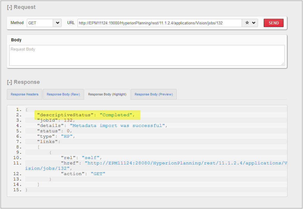 api how to use a post with body parameter