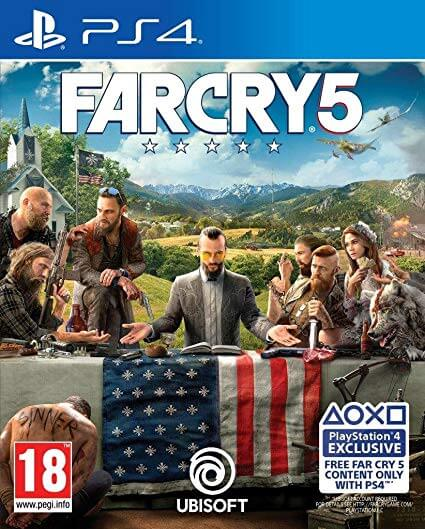 Far Cry 5 ps4 cover