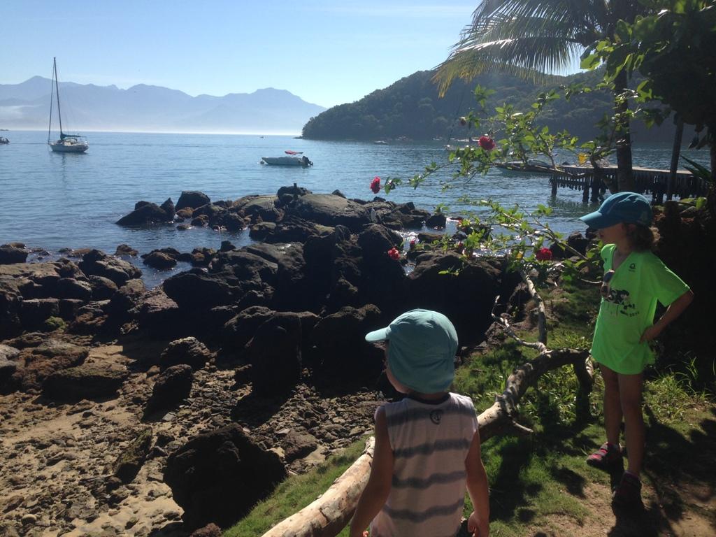 trilha para Abraãozinho, Ilha Grande