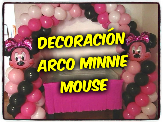 decoracion-arco-minnie-mouse-recreacionistas-medellin-1