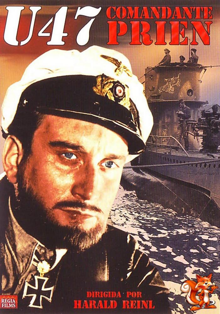 U-47 Comandante Prien (1958) Descargar y ver Online Gratis