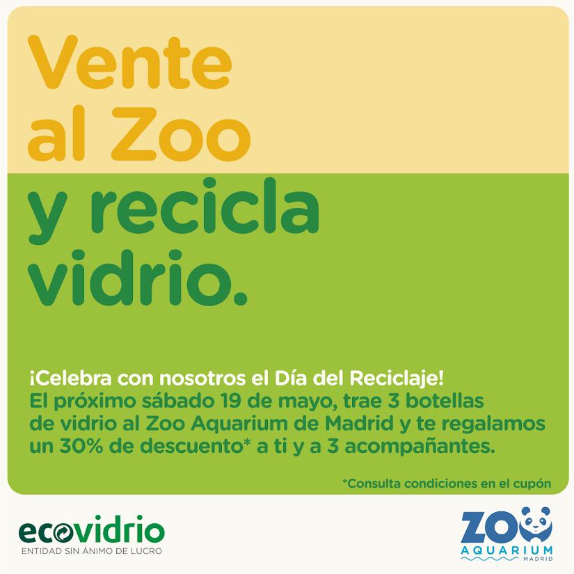 Descuento en el Zoo con Ecovidrio