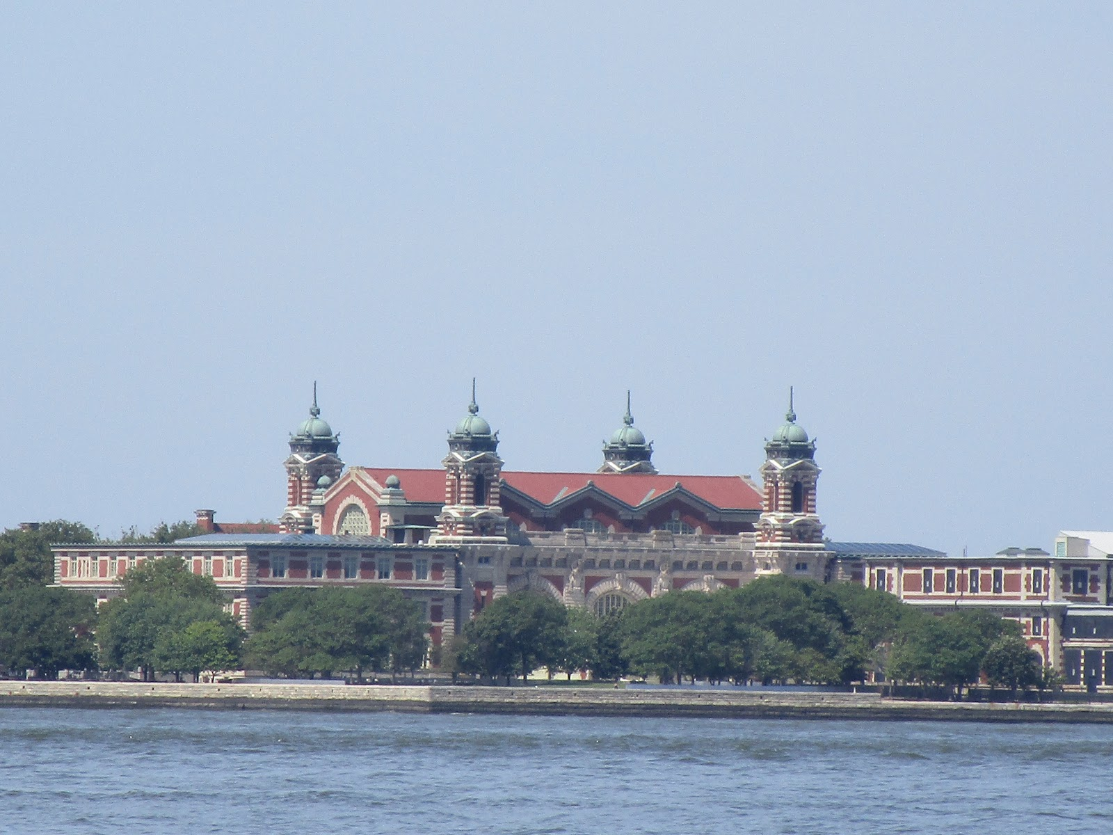Immigrants Going Through Ellis Island In The  S