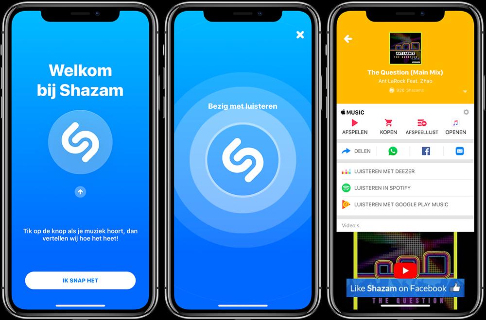 de beste apps voor muziek herkennen op je iphone en ipad digitaal muziek nieuws. Black Bedroom Furniture Sets. Home Design Ideas