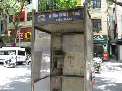 ベトナムの公衆電話