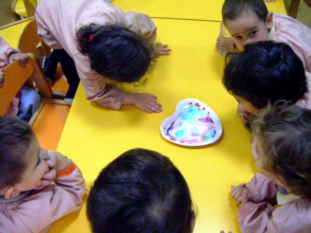 Experimentos científicos en un aula de educación infantil
