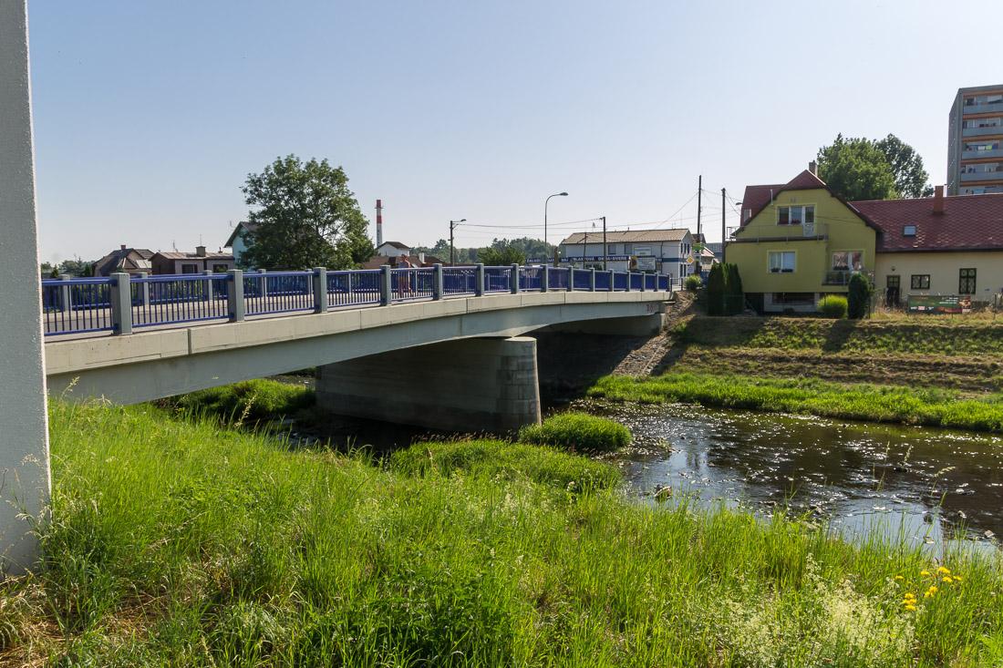 Мост через Любину в Пршиборе 2019 год