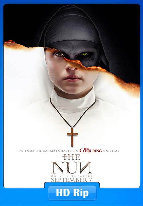 The Nun 2018 HDRip 720p Tamil Telugu Hindi Eng x264 | 480p 300MB | 100MB HEVC