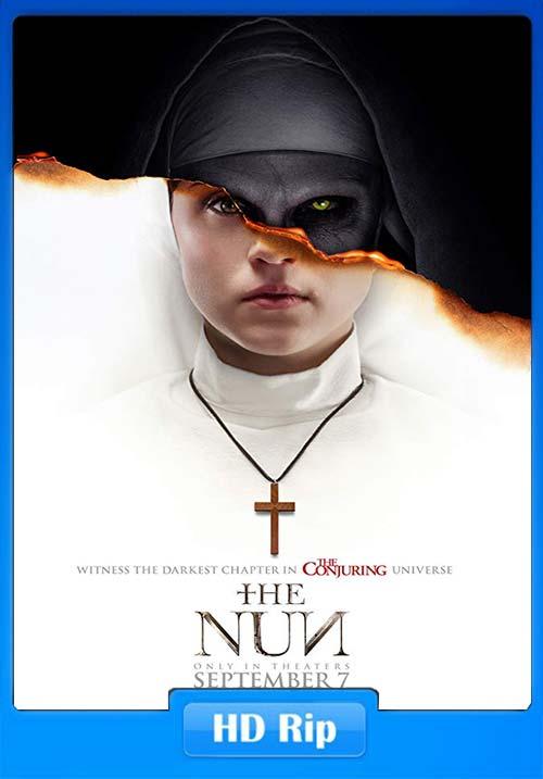 The Nun 2018 HDRip 720p Tamil Telugu Hindi Eng x264   480p 300MB   100MB HEVC Poster