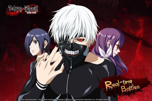 تحميل لعبة Tokyo Ghoul:Dark War v1.1.8 مهكرة وكاملة للاندرويد اخر اصدار