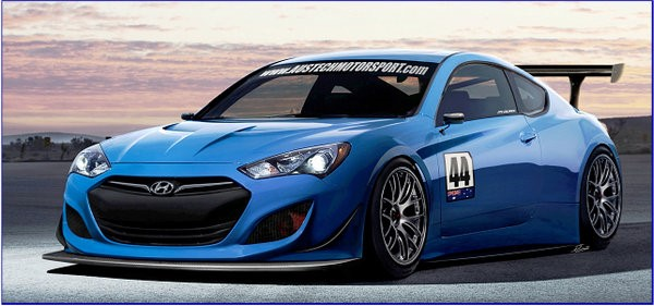 2013 Hyundai Genesis Coupe Gt Race Car By Austech Motorsport Ms Blog