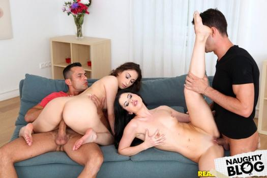 Euro Sex Parties – Cassie Right & Leyla Bentho