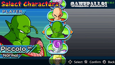 dragon ball z free download ppsspp