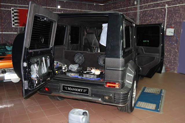 mercedes g55 car audio