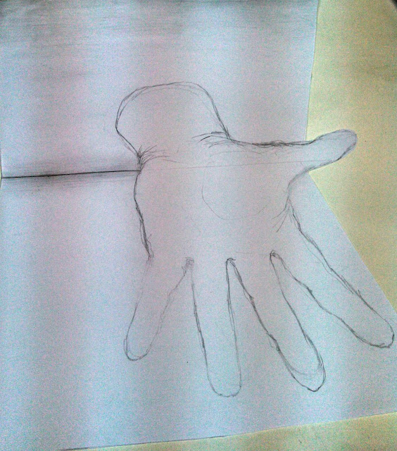 Hand in 3D