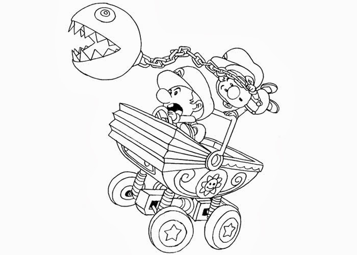 mario coloring pages as babies - photo#26