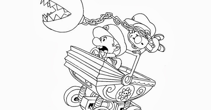 Free Coloring Pages And Coloring Books For Kids Baby Mario