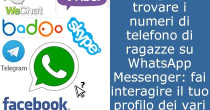 numeri ragazze whatsapp gratis