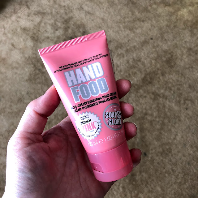 Soap & Glory, Soap & Glory Hand Food, hand cream, lotion, moisturizer, skin care, skincare, The Self Care-antine Series, self care