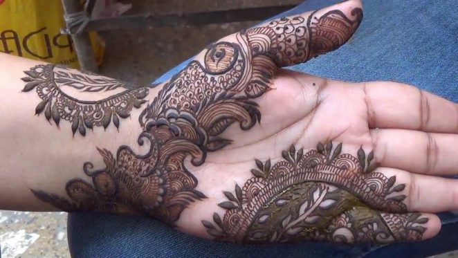 Mehndi Designs Latest New Style : New style arabic eid mehndi designs for upcoming
